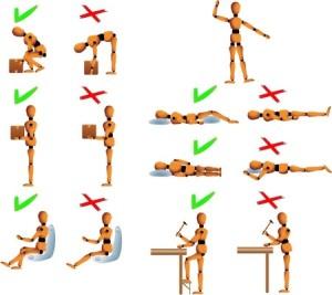 Cviky na poškodenú chrbticu
